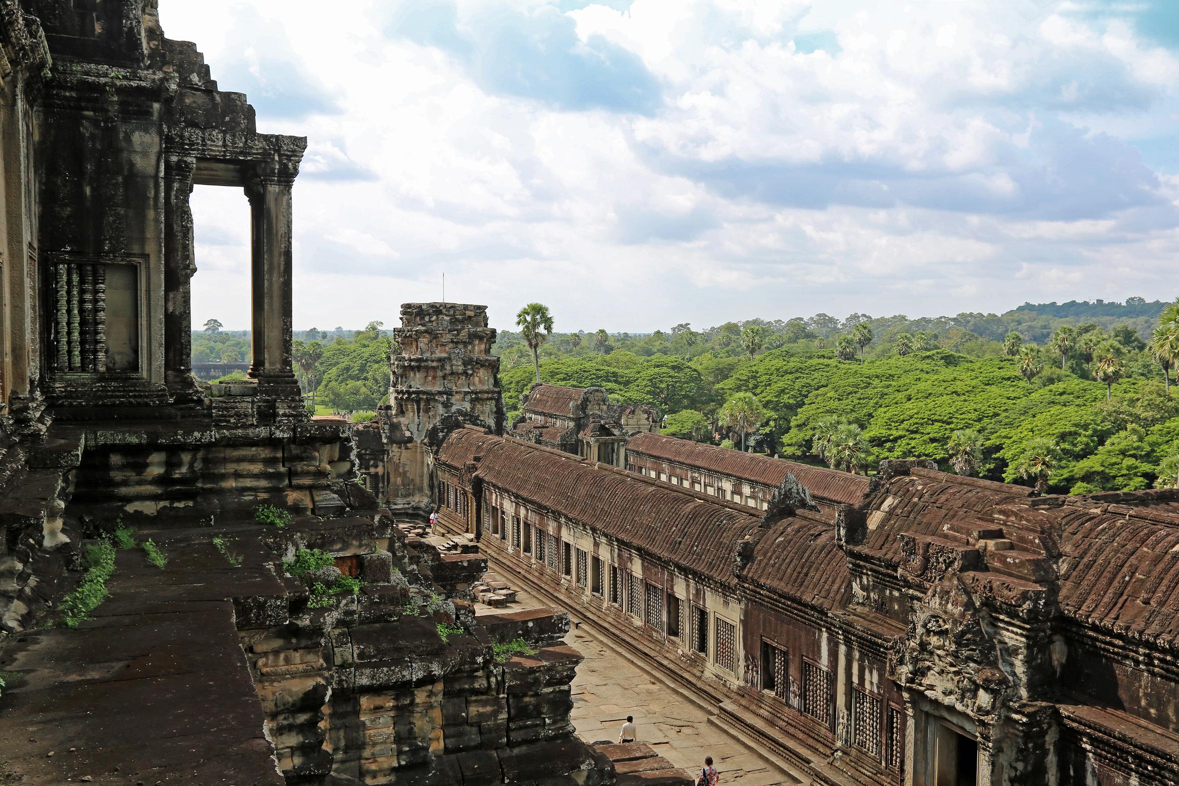 Angkor Wat - Der Tempel im Urwald